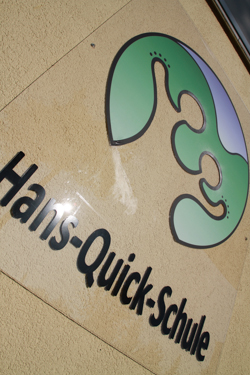 Link zum Internetangebot der Hans-Quick-Schule.